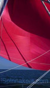 spinnaker asimmetrico rosso