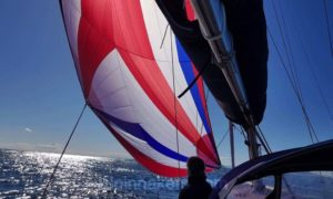 Jeanneau Sun Odyssey 49 2 spinnaker asimmetrico